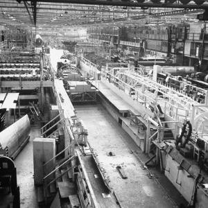 Douglas Aircrafts' Main Assembly Line by John Florea