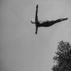 Victoria Manalo Draves Diving Like a Swan by John Florea