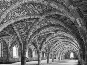 England, Fountains Abbey Yorkshire by John Ford