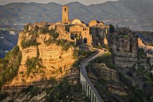 Europe, Italy, Civita di Bagnoregio by John Ford