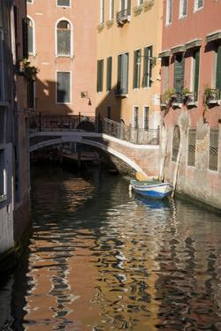 Europe, Italy, Venice, Canal by John Ford
