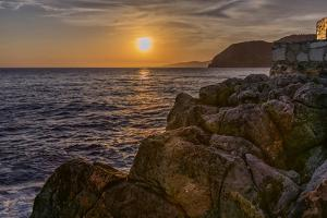 Europe, Spain, La Herradura Sunset by John Ford