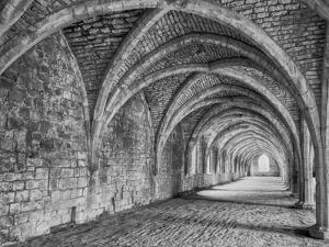 Fountains Abbey Yorkshire England by John Ford