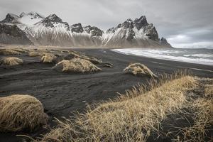 Iceland, Stokknes, Mt. Vestrahorn by John Ford