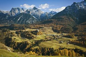 Italy, Northern Dolomites and Valley by John Ford