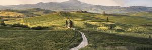 Italy, Tuscany, Val d'Orcia by John Ford
