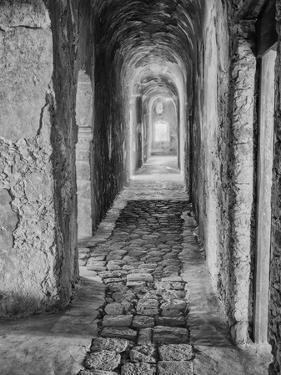 Mexico, Mani Hallway in Deserted Convent by John Ford