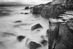 New Zealand, Asia, Catlins National Forest, Curio Bay, Surf by John Ford