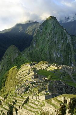 Peru, Machu Picchu, Morning by John Ford