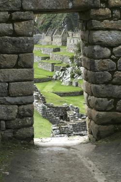 Peru, Machu Picchu Overview by John Ford