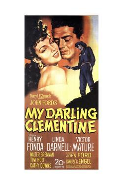"""John Ford's My Darling Clementine, 1946, """"My Darling Clementine"""" Directed by John Ford"""