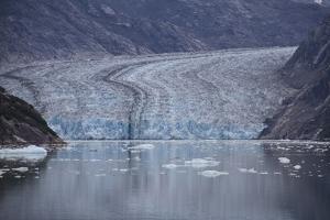 USA, Alaska, Inside Passage, Glacier by John Ford