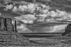 USA, Arizona, Monument Valley Approaching Storm by John Ford