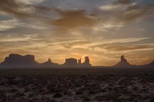 USA, Arizona, Monument Valley, First Light by John Ford
