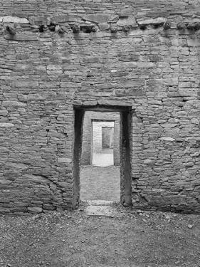 USA, Arizona, Pueblo Bonita Chaco Canyon Chaco Doors by John Ford