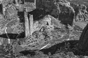 USA, Arizona, Spider Rock, Canyon de Chelly, Band by John Ford
