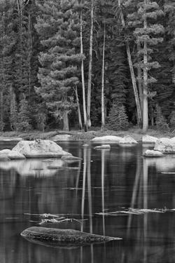 USA, California, High Sierra Lake by John Ford