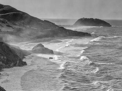 USA, California, Little Sur by John Ford