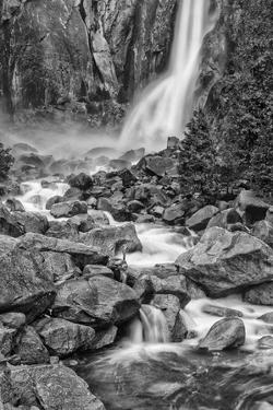 USA, California, Yosemite, Bridlevale Falls by John Ford