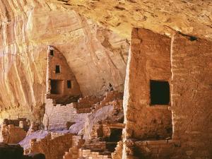 USA, Colorado, Mesa Verde, Long House by John Ford