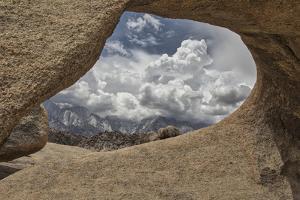 USA, Eastern Sierra, Mosaic Arch by John Ford