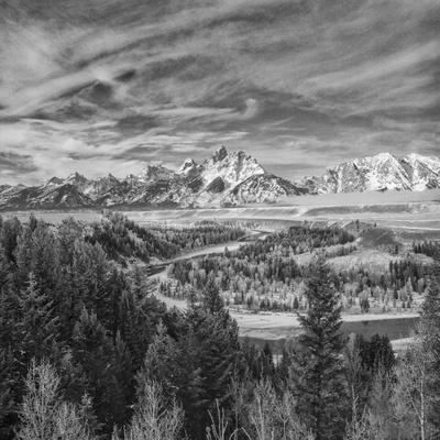 USA, Wyoming, Grand Teton National Park, Snake River Overview