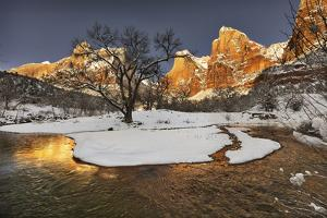 Zion in winter. by John Ford