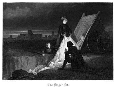 The Plague Pit, 1855