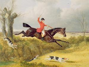 Clearing a Ditch, 1839 (Oil on Panel) by John Frederick Herring I