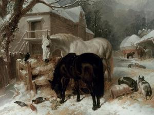Farmyard Scene by John Frederick Herring I