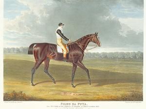Filho Da Puta', the Winner of the Great St. Leger at Doncaster, 1815 by John Frederick Herring I