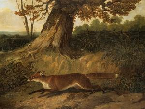 Fox on the Run by John Frederick Herring I