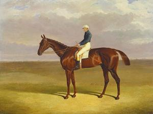 Margrave' with James Robinson Up, 1833 by John Frederick Herring I