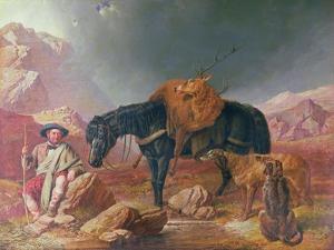 Return from the Hunt by John Frederick Herring I