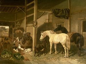 Stable Interior by John Frederick Herring I