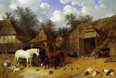 The Artist's Farmyard at Meopham, Kent