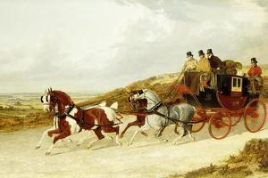 The Edinburgh and London Royal Mail, 1838 by John Frederick Herring I