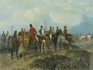 The Meet, Engraved by Huffman and Mackrill by John Frederick Herring I