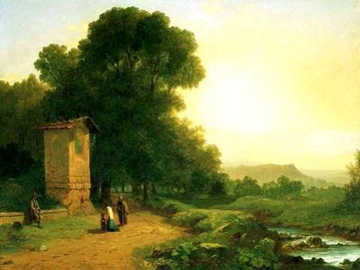 A Shrine in Italy, 1847