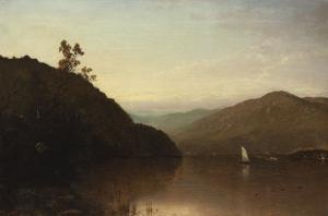 Along the Hudson by John Frederick Kensett