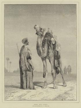 Arab and Camel by John Frederick Lewis