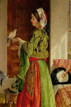 Caged Doves by John Frederick Lewis