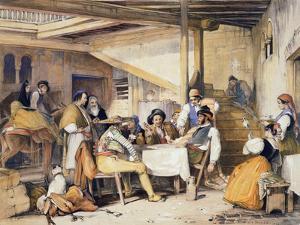 Interior of a Posada by John Frederick Lewis