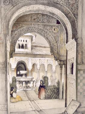 The Fountain of the Lions, from the Hall of the Abencerrajes by John Frederick Lewis