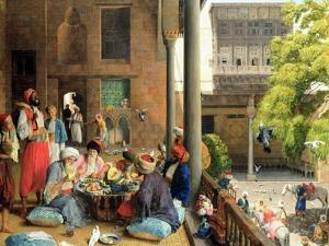 The Midday Meal, Cairo, 1875 by John Frederick Lewis