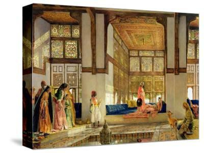 The Reception, 1873 (Oil on Panel) by John Frederick Lewis