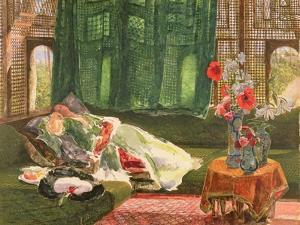 The Siesta, C.1876 by John Frederick Lewis