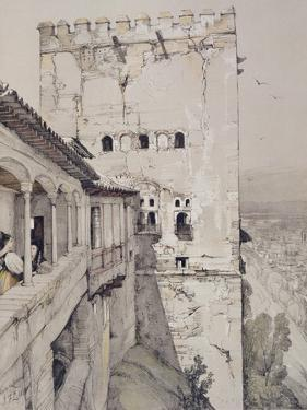 The Tower of Comares (Torre De Comares) by John Frederick Lewis