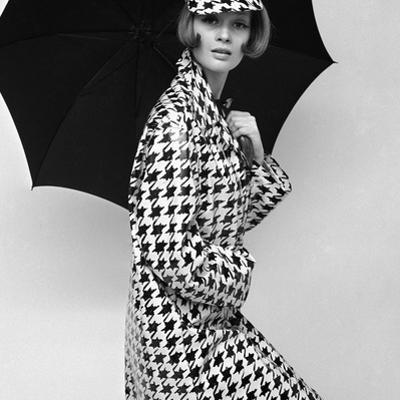 Belted Tweed Suit, Spring 1964 by John French