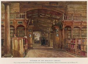 Bodleian Library 1903 by John Fulleylove